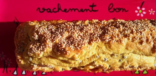 Cake Farine Pois Chiche Carotte