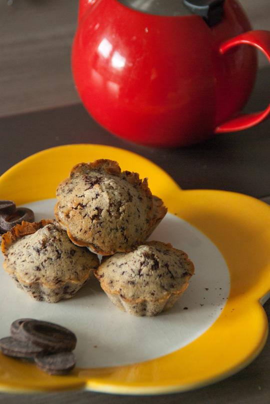muffins choco amande