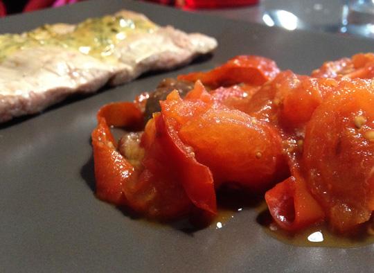 Escalopes-de-veau-et-fondue-tomates-figues