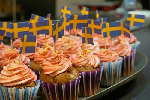cupcakes à la myrtille