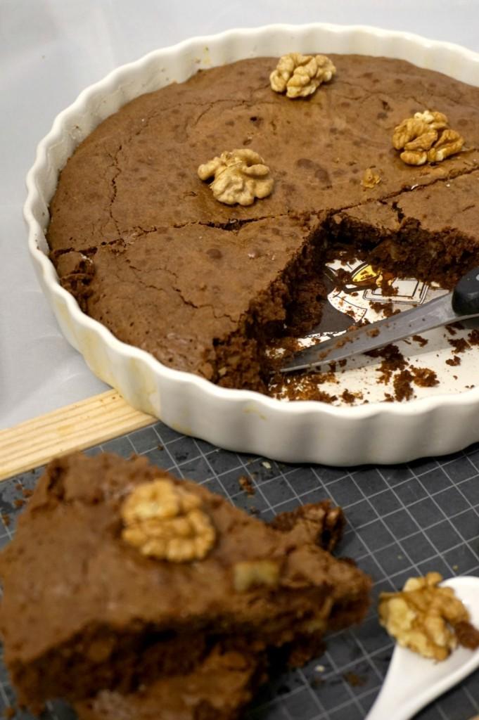brownie chocolat noir et noix