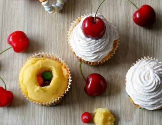 cupcakes bonbon et cerise