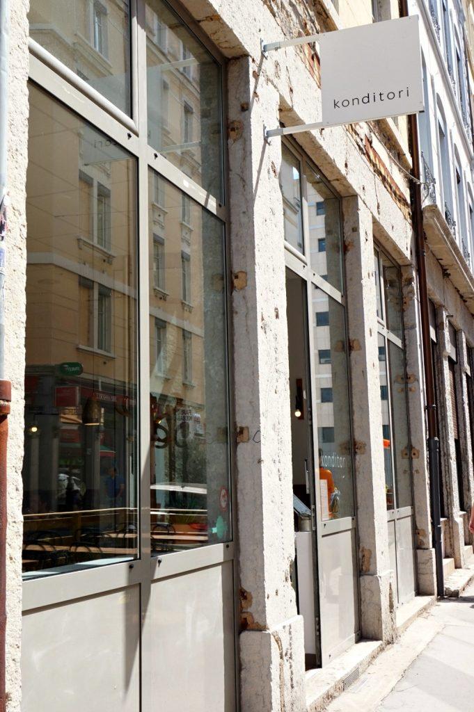 façade konditori