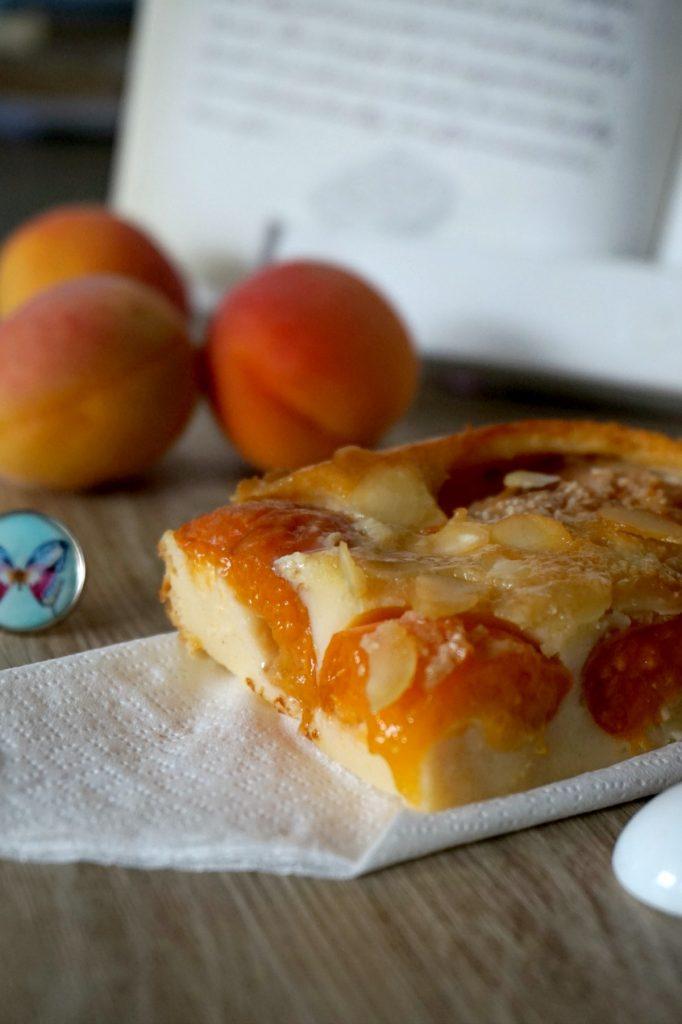part dessert abricots