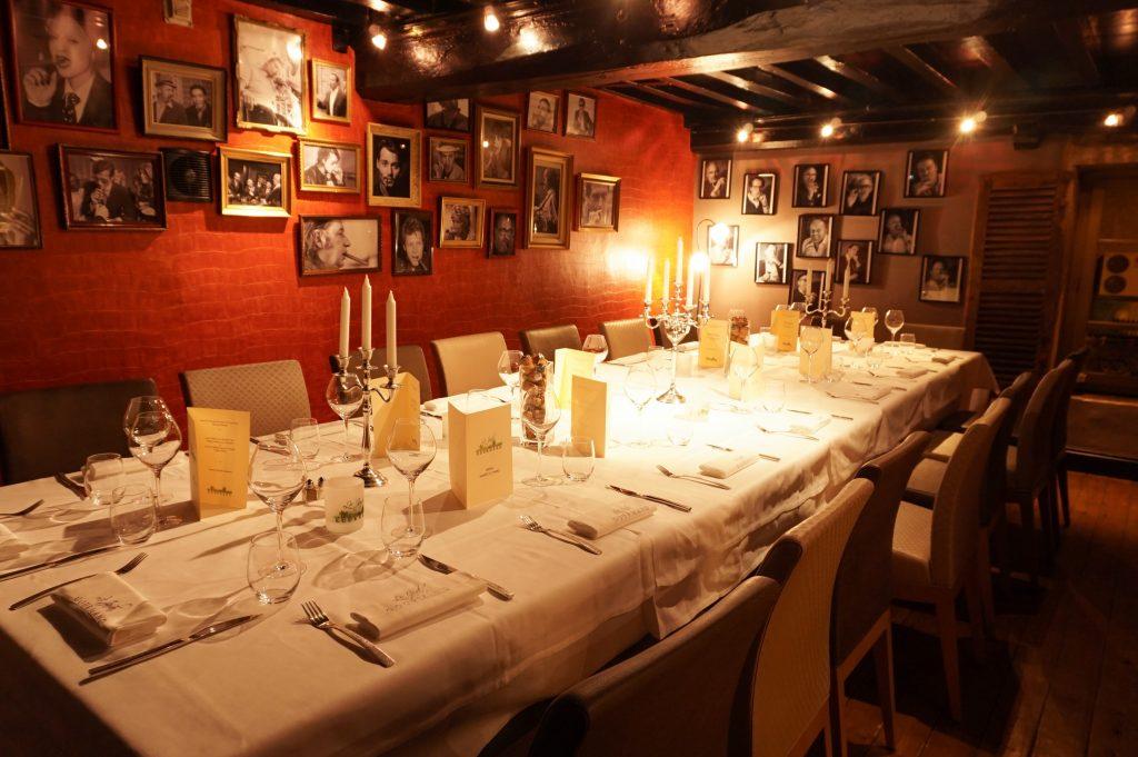 restaurant bistronomique salle privée