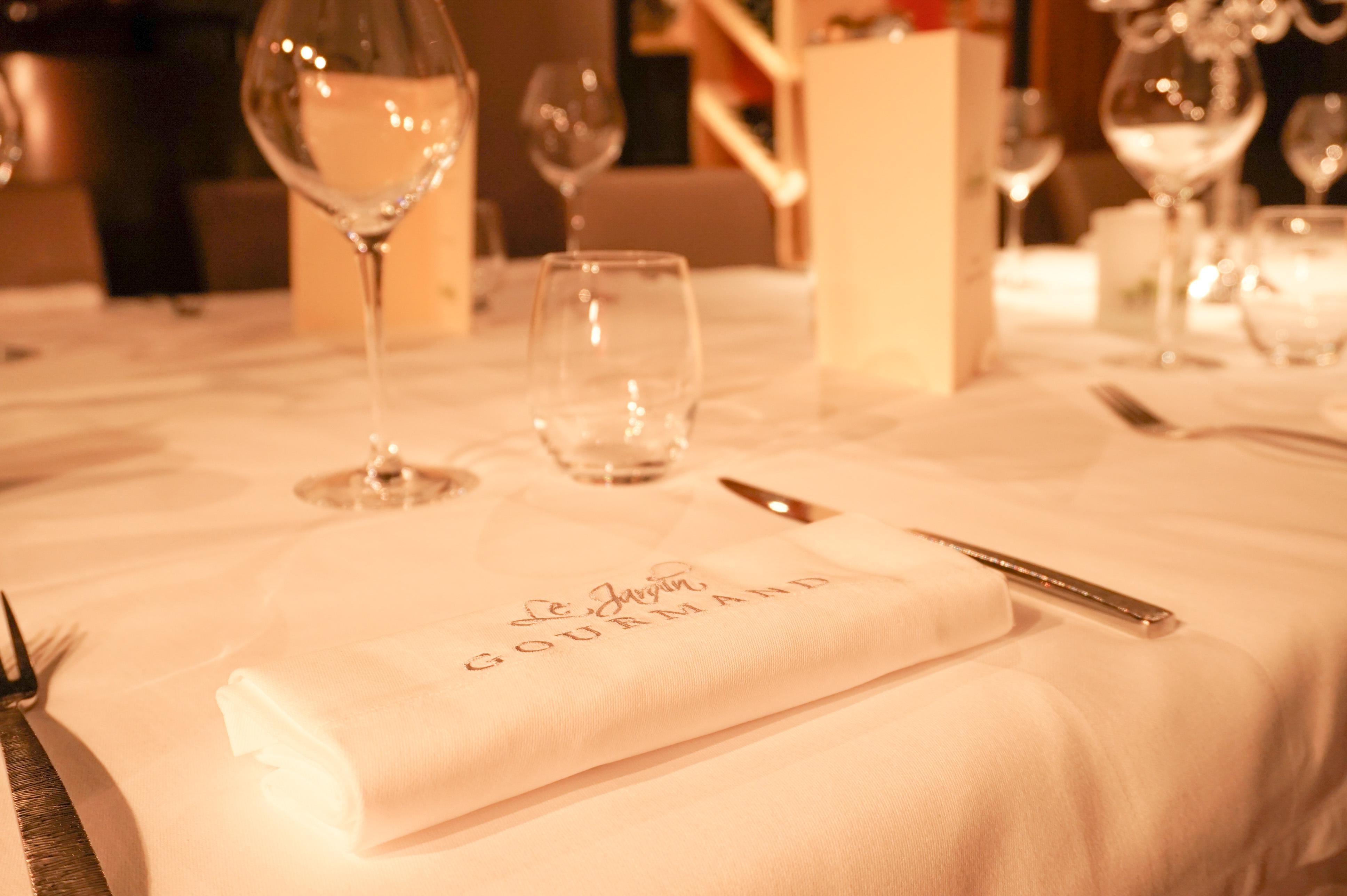 repas bistronomique au resaturant le Jardin gourmand près de Lyon