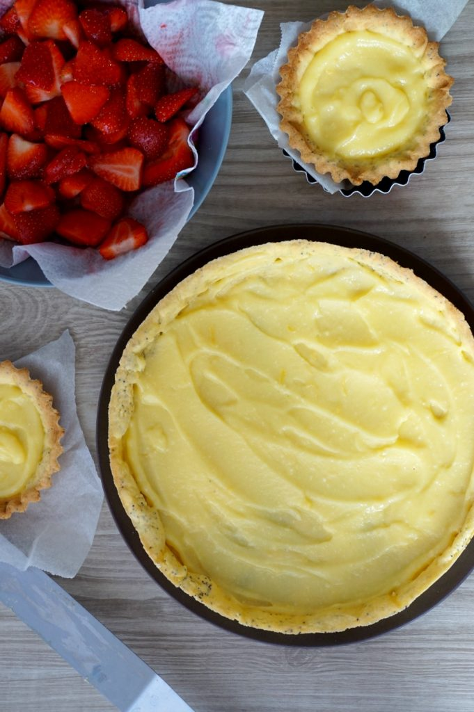 tarte lemon curd