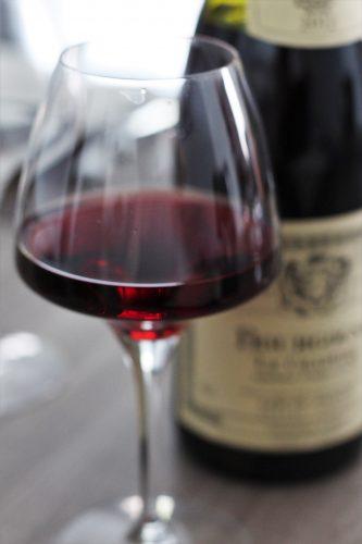 verre de vin de bourgogne